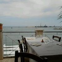 Photo taken at Ristorante Miramare by Salvatore G. on 8/13/2012