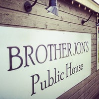 Photo taken at Brother Jon's Public House by Morgin S. on 5/3/2012