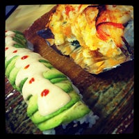 Photo taken at Sushi House by Luna M. on 3/14/2012