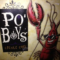 Photo taken at Po' Boys Creole Cafe by Rich S. on 4/21/2012