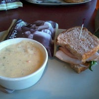 Photo taken at Panera Bread by cecilia on 3/25/2012