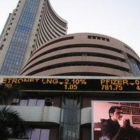 Photo taken at Bombay Stock Exchange (BSE) by Vivek V. on 3/20/2012