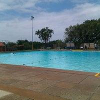 Photo taken at Tesoriere Swimming Pool by Jody D. on 2/21/2012
