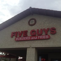 Photo taken at Five Guys by Sam R. on 5/7/2012