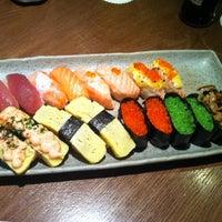 Photo taken at Sushi Zanmai by ng k. on 2/13/2012