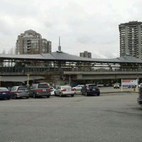 Photo taken at Lougheed Town Centre SkyTrain Station by @michaelkwan on 2/20/2012