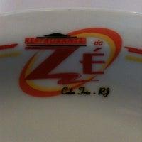 Photo taken at Restaurante do Zé by Gustavo M. on 7/22/2012
