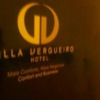 Photo taken at Villa Vergueiro Hotel by Otavio F. on 8/7/2012