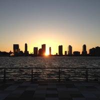 Photo taken at Pier 25 - Hudson River Park by Douglas W. on 4/2/2012