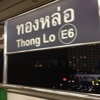 Photo taken at BTS Thong Lo (E6) by monday O. on 8/25/2012