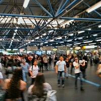 Photo taken at Estação Palmeiras-Barra Funda (CPTM) by Marcos P. on 8/24/2012