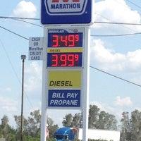 Photo taken at Marathon Gas Station by Susan G. on 5/23/2012