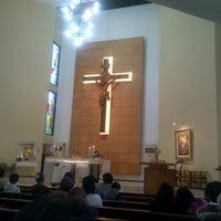 Photo taken at Gereja Kristus Salvator by Freddy L. on 7/22/2012