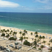 Photo taken at Courtyard Fort Lauderdale Beach by Maurice W. on 5/22/2012