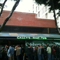 Photo taken at Casey's Irish Pub by Calleigh S. on 3/17/2012