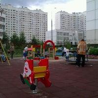 Photo taken at Детская площадка by Krapik on 7/17/2012