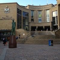 Photo taken at Glasgow Royal Concert Hall by Pamela D. on 5/3/2012