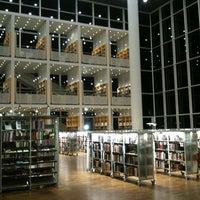 Photo taken at Malmö Stadsbibliotek by Alex A. on 4/18/2012