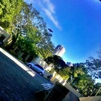 Photo taken at Universidade Cruzeiro do Sul - Campus Anália Franco by Juliana A. on 5/17/2012