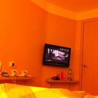 Photo taken at Ole London Hotel Macau 澳莱英京酒店 by TanG \. on 4/26/2012