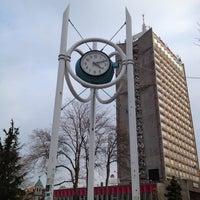 Photo taken at Часовникът (The City Clock) by Dimitar C. on 2/29/2012