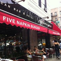 Photo taken at 5 Napkin Burger by Sparkly M. on 8/19/2012
