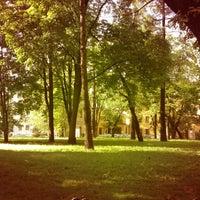 Снимок сделан в Сад Фонтанного дома пользователем Alexandra P. 8/3/2012