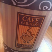 Photo taken at Cafe Carolina and Bakery by Phillip M. on 7/7/2012