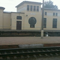 Photo taken at Залізнична станція «Жмеринка» by Polina Б. on 7/18/2012