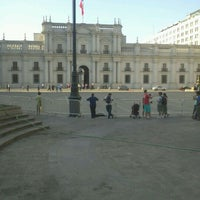 Photo taken at Plaza de la Constitución by Jack D. on 2/14/2012