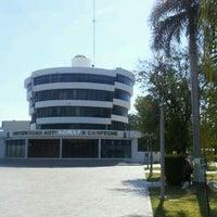 Photo taken at Universidad Autónoma de Campeche by Gregorio C. on 3/15/2012