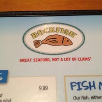 Photo taken at Rockfish Seafood Grill by Misty M. on 5/10/2012