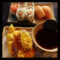 Photo taken at Tora Sushi by Billy H. on 3/29/2012