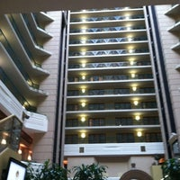 Photo taken at Embassy Suites by Hilton Indianapolis Downtown by Jorge M. on 4/17/2012