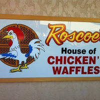 Photo taken at Roscoe's House of Chicken and Waffles by Rick L. on 3/9/2012