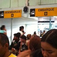 Photo taken at Terminal Rodoviário Engenheiro Huascar Angelim by Francine on 9/5/2012