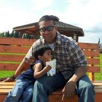 Photo taken at Pioneer Park by Rajeev K. on 6/24/2012