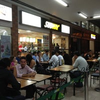 Photo taken at Subway by Márcio A. on 7/8/2012