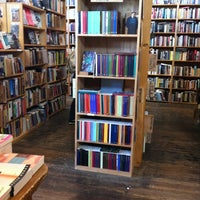 Photo taken at Dog Eared Books by Paula W. on 2/14/2012