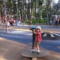 Photo taken at Dzintaru mežaparks by Kaspars T. on 8/5/2012