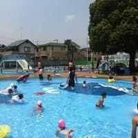 Photo taken at 三橋プール by Hiroshi M. on 7/28/2012