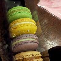 Photo taken at Macaron Café by Rick C. on 8/13/2012