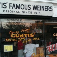 Photo taken at Curtis' Coney Island Famous Weiners by Greg T. on 3/22/2012