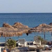 Photo taken at Bedya Beach by Ayfer O. on 8/18/2012
