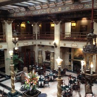 Photo taken at The Davenport Hotel by Susan R. on 9/12/2012