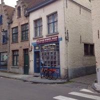 Photo taken at Belgium winkel shop by Laurent V. on 7/13/2012