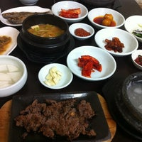 Photo taken at 진일정 떡갈비 by Jin-young H. on 7/11/2012