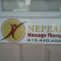 Photo taken at Nepean Massage Therapy by Sabrina on 7/5/2012