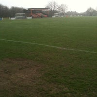 Photo taken at Houghton Main FC by Steve T. on 3/24/2012