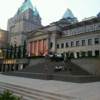 Photo taken at Vancouver Art Gallery by nicholita on 7/10/2012